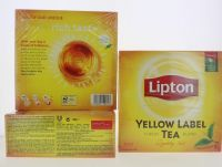 Yellow Tea Bags
