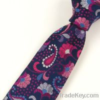 Supply all kinds of new fashion silk jacquard tie