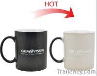 Sell FDA approved 15oz Full color changing ceramic  mug