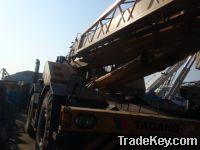 Sell used rough terrain crane 50t