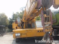 Sell used truck crane kato 80t