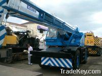 Sell used rough terrain crane kato 25t