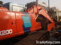 Sell used excavator hitachi EX200
