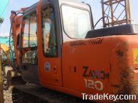 Sell used excavator hitachi ZX120