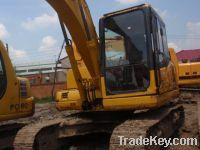 Sell used excavator komatsu PC130