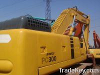 Sell used excavator komatsu pc300
