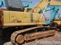 Sell used excavator komatsu pc450