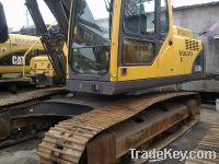 Sell used excavator volvo EC210