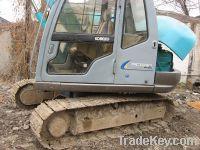 Sell used kobelco excavator SK60