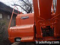 Sell used doosan excavator DH220