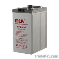 Sell Stationary 2V AGM Battery GFM 2V-500AH