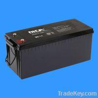 Sell Deep Cycle Gel Battery FCDG 12V-200AH