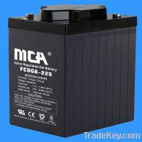 Sell Deep Cycle GEL Battery FCDG 6V-225AH