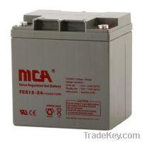 Sell General Gel batteries12V-24AH