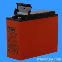 Sell Front Terminal Gel Batteries(12V-55AH)