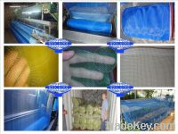 Sell stock blue nylon netting plastic nylon window screen nylon net