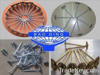 Sell electro galvanized roofing nail umbrella nail twisted nail