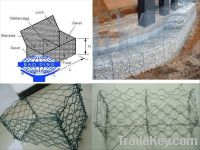 Sell hot dipped galvanized gabion boxes and mattresses Gabion basket