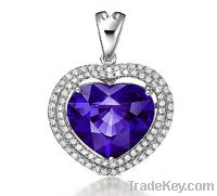 Sell siliver jewelry micro pave setting jewelry