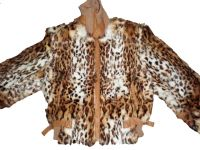 Sell Leopard Printed Rabbit Fur Garment