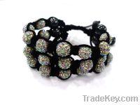 2012 Pave Diamond Beads Shamballa Bracelets