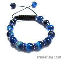 2012 New Fashion Shamballa Bracelet With Crystal Ball