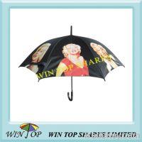 "Sell 23"" auto straight photo umbrella"