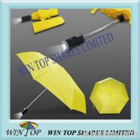 Sell 3 folding advertising LED umbrella