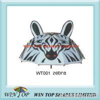 "Sell 18"" zebra cartoon umbrella"