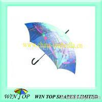"Sell 23"" auto wooden good selling umbrella"