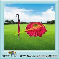 "Sell 23"" auto straight flower umbrella"