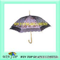"Sell 21"" ladies straight sun umbrella"