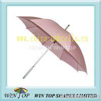 "Sell 23"" auto straight aluminum pink umbrella"