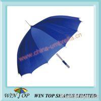 "Sell 23"" x 16 ribs straight aluminum manual umbrella"