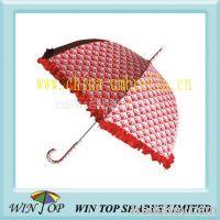 """Sell 23"""" ladies straight heart shape umbrella"""