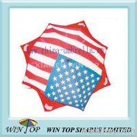 "Sell 23"" x 8k auto straight flag umbrella"