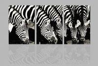 Sell zebra animal canvas print