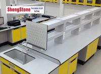 Lab phenolic worktop, double side corrosion resistant physical and chemical board worktop