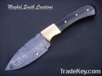 Sell damascus hunting knife