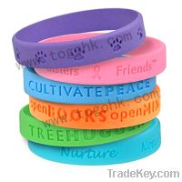 Sell Silicone Bracelet Supplier