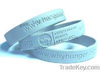 Sell Silicone Rubber Wristbands