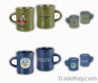 Sell colorful coffee mugs 350ml
