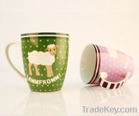 Sell colorful ceramic coffee or tea cups/mugs