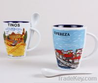 Sell City image printing ceramic coffee or tea mugs