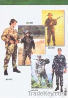 Sell of military uniform