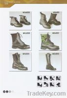 Sell of boots , leather boots , military boots , camo canvas boots, army b