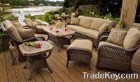 Sell rattan sofa set: ESR-9708