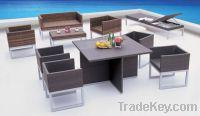 Sell rattan sofa set: ESR-9299