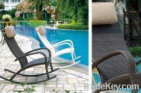 Sell rattan rocking chair:ESR-8496