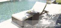 Sell rattan chaise lounge:ESR:7345